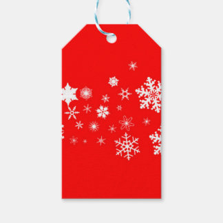 Red And White Christmas Snowflake Banner
