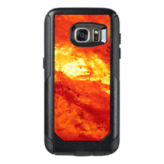 Red and White Hot Lava OtterBox Samsung Galaxy S7 Case