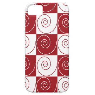 Red and White Mouse Tails iPhone 5 Cases
