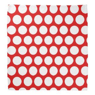 Red and White Polka Dot Do-rag