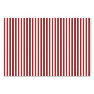Red and White Striped Pattern Tissue Paper