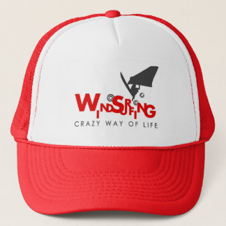 Red and white Windsurfing Hat