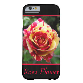 Red and Yellow Flower Barely There iPhone 6 Case