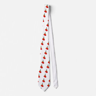 red and yellow hanging boxing gloves tie