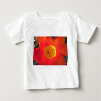 Red and yellow open tulip flower baby T-Shirt