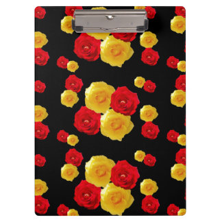 Red and Yellow Roses Clipboards