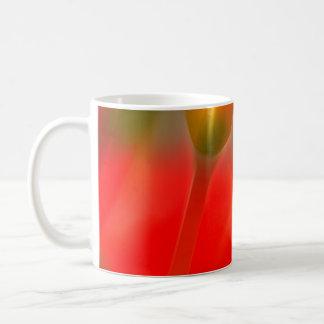 Red and Yellow Tulip Glow Coffee Mug