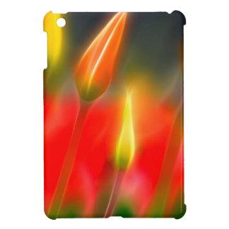 Red and Yellow Tulip Glow iPad Mini Cover