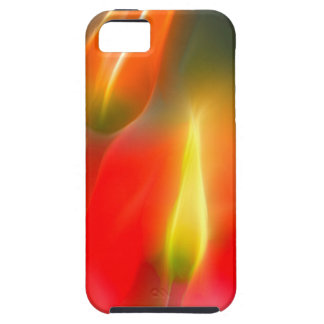 Red and Yellow Tulip Glow iPhone 5 Case
