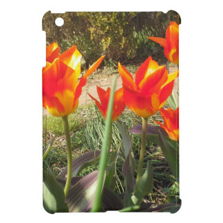 Red and Yellow Tulips iPad Mini Cover