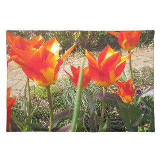 Red and Yellow Tulips Placemat