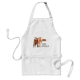 Red Angus Standard Apron