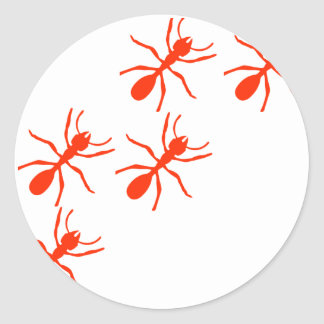red ant trail stickers