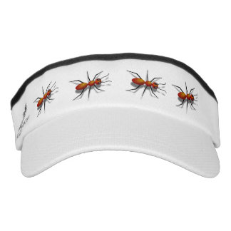 Red Ants Crawling at Your Picnic Visor