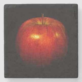 Red Apple 2 Stone Coaster