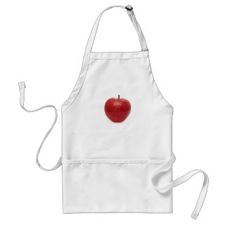 Red Apple Adult Apron