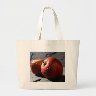 Red Apple Canvas Bag