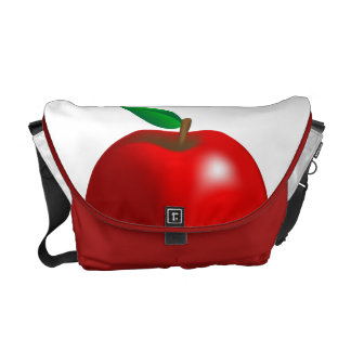 Red Apple Bag Commuter Bag