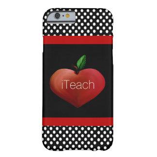 Red Apple Heart Teacher's iPhone 6 case