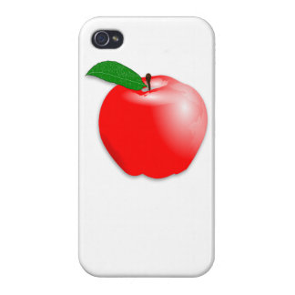 Red Apple iPhone 4/4S Cover