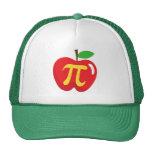Red apple pie pi symbol
