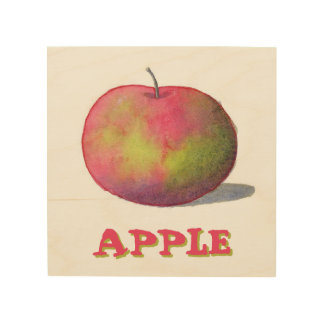 Red Apple Wood Prints
