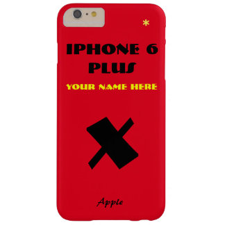 Red Apple X Customize IPhone 6 case your name
