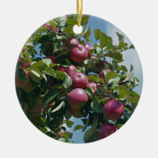 Red Apples On Tree Nature Ornament