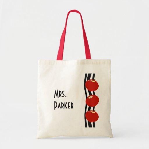 Red Apples Tote Bag