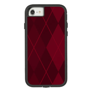 Red Argyle Case-Mate Tough Extreme iPhone 8/7 Case