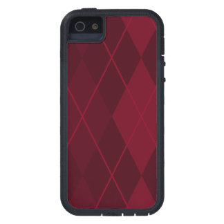 Red Argyle iPhone 5 Cover