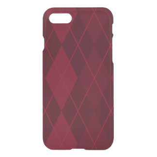 Red Argyle iPhone 8/7 Case