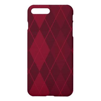 Red Argyle iPhone 8 Plus/7 Plus Case
