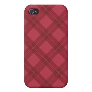 Red Argyle iPhone 4 Case