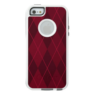 Red Argyle OtterBox iPhone 5/5s/SE Case
