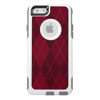 Red Argyle OtterBox iPhone 6/6s Case