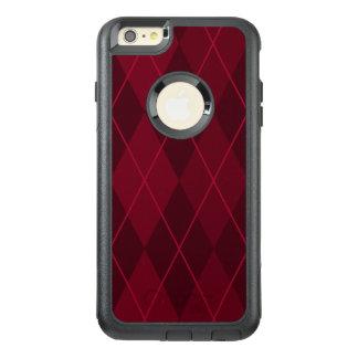 Red Argyle OtterBox iPhone 6/6s Plus Case