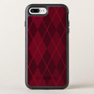 Red Argyle OtterBox Symmetry iPhone 8 Plus/7 Plus Case