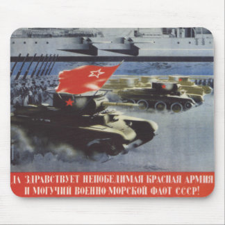 Red Army Mouse Pad