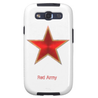 Red Army Star Galaxy S3 Cover