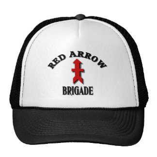 Red Arrow Brigade Military Cap