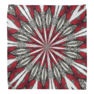 Red Arrow Medallion Bandana