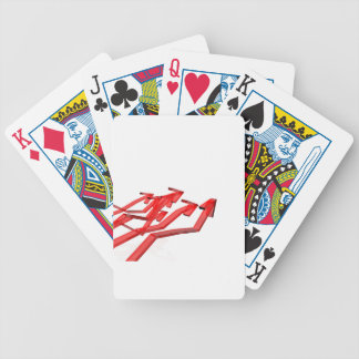 Red arrows bicycle playing cards