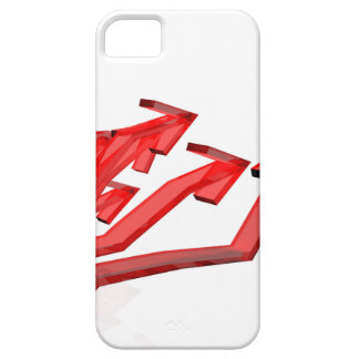 Red arrows case for the iPhone 5