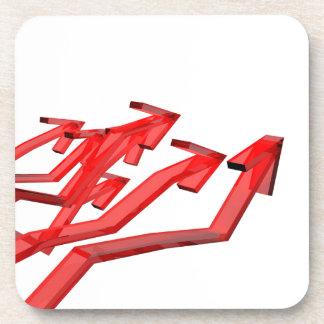 Red arrows coaster