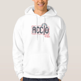 Red Art Deco Accio Spell Graphic Hoodie