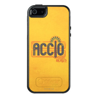 Red Art Deco Accio Spell Graphic OtterBox iPhone 5/5s/SE Case