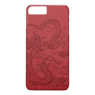 Red Asian Chinese Dragon iPhone 7 Plus Case
