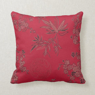 Red Asian Inpired Pillow