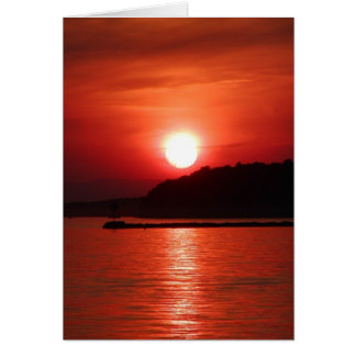 Red at Night, Sailor's Delight Card